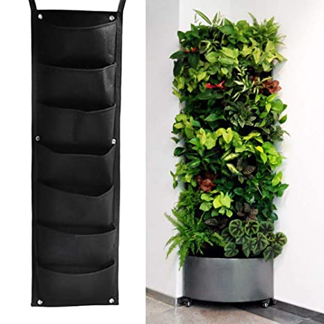 Sac A Plantes 7 Poches Sac De Plantation Mural Vertical Pot