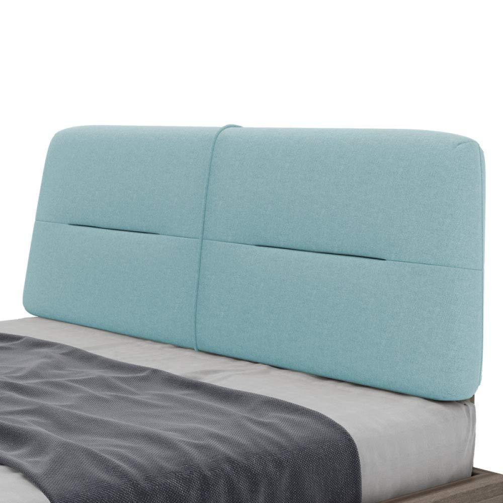 ZGYQGOO Gepolstertes Kopfteil Kopfteil Kissen Sofa Große Doppelbetten Zurück Haushalt Waschbar(Ohne Kopfteil), A-180 * 60cm