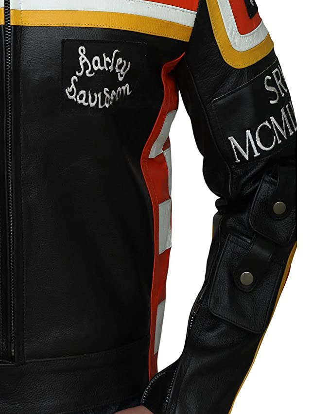 LeatherJacket4 Marlboro Man Mickey Rourke Harley Davidson ...