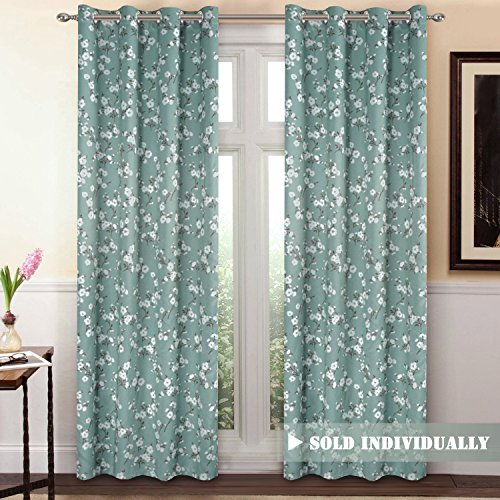 Blackout Window Curtain Panel Grommet Top Drapes 1 Panel