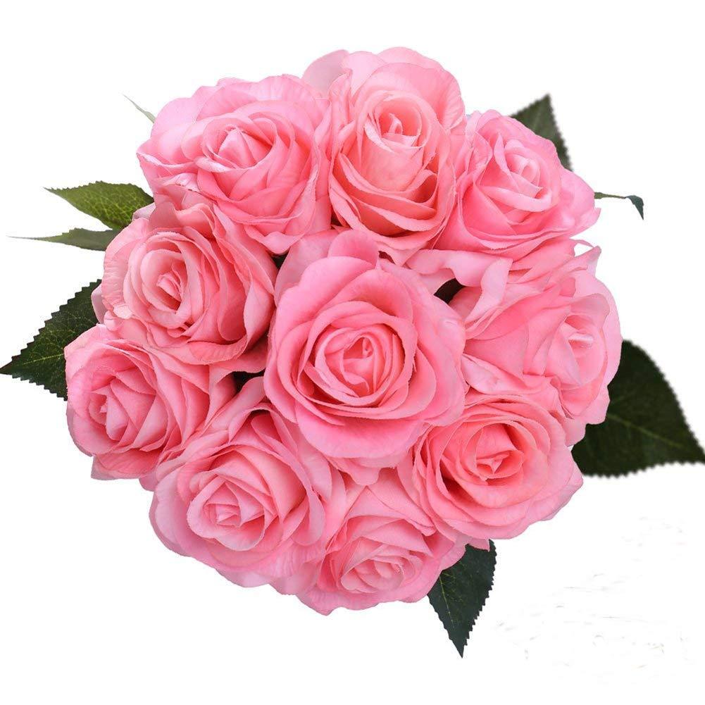 Amazon Diy Artificial Silk Craft Decoration Flowers Bridal