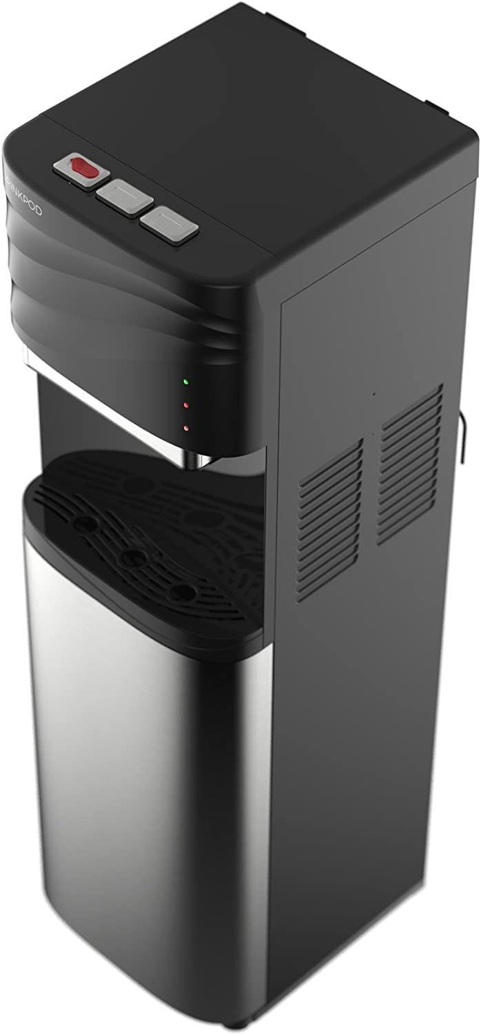Drinkpod Bottleless Water Cooler Dispenser - 3 temperature modes with child safety lock