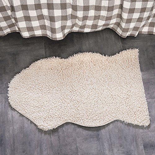 OJIA-Deluxe-Soft-Faux-Sheepskin-Chair-Cover-Seat-Pad-Plain-Shaggy-Area-Rugs-For-Bedroom-Sofa-Floor