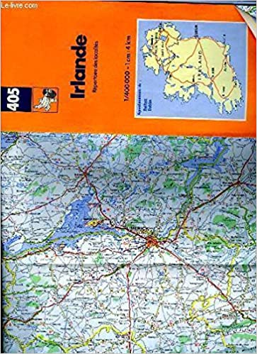 Country Of Ireland Map.Michelin Country Map Ireland Michelin Maps English German