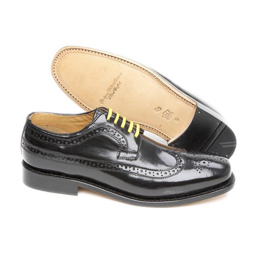 Delicious Junction Men/'s Upsetter Oxblood Brogue Shoes