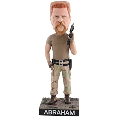 Royal Bobbles The Walking Dead Abraham Ford Bobblehead: Toys & Games