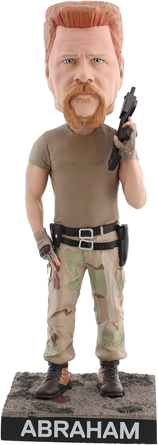 Royal Bobbles The Walking Dead Abraham Ford Bobblehead