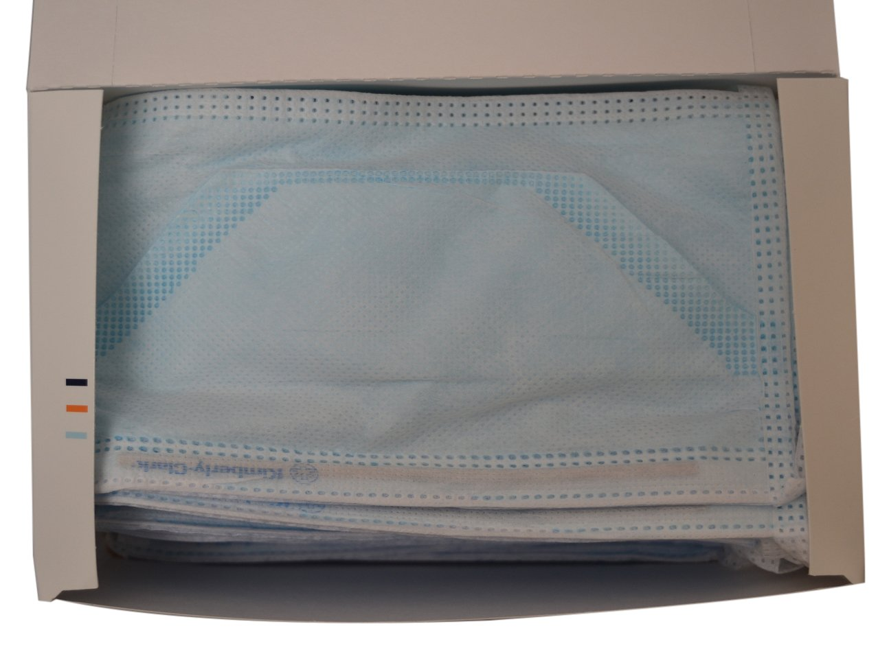 Halyard Health 49216 Duckbill Fog-Free Surgical Mask, Pouch Style, Blue (6 Boxes of 50, 300 Total) by Halyard Health (Image #1)