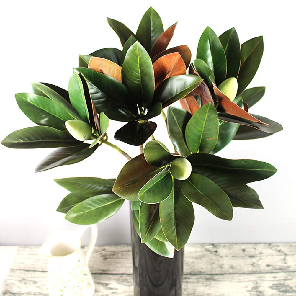 Artificial Plant Greenery Artificial Ficus Plants Safari Jungle Party Decorations Supplies Decor