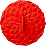 GIR: Get It Right Premium Silicone Round Lid, 6 Inches, Red