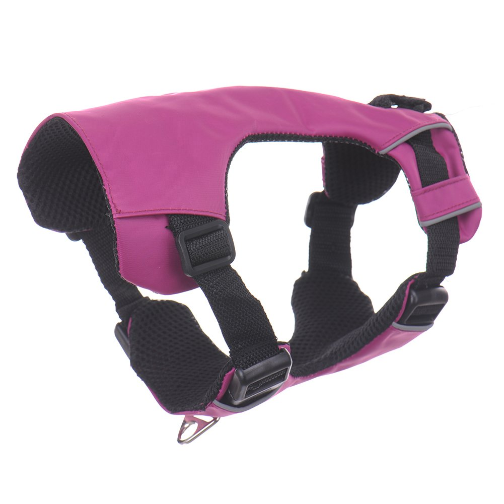Purple XXS Purple XXS chendongdong Front Range Reflective Padded Comfortable Outdoor Pet Dog Harness