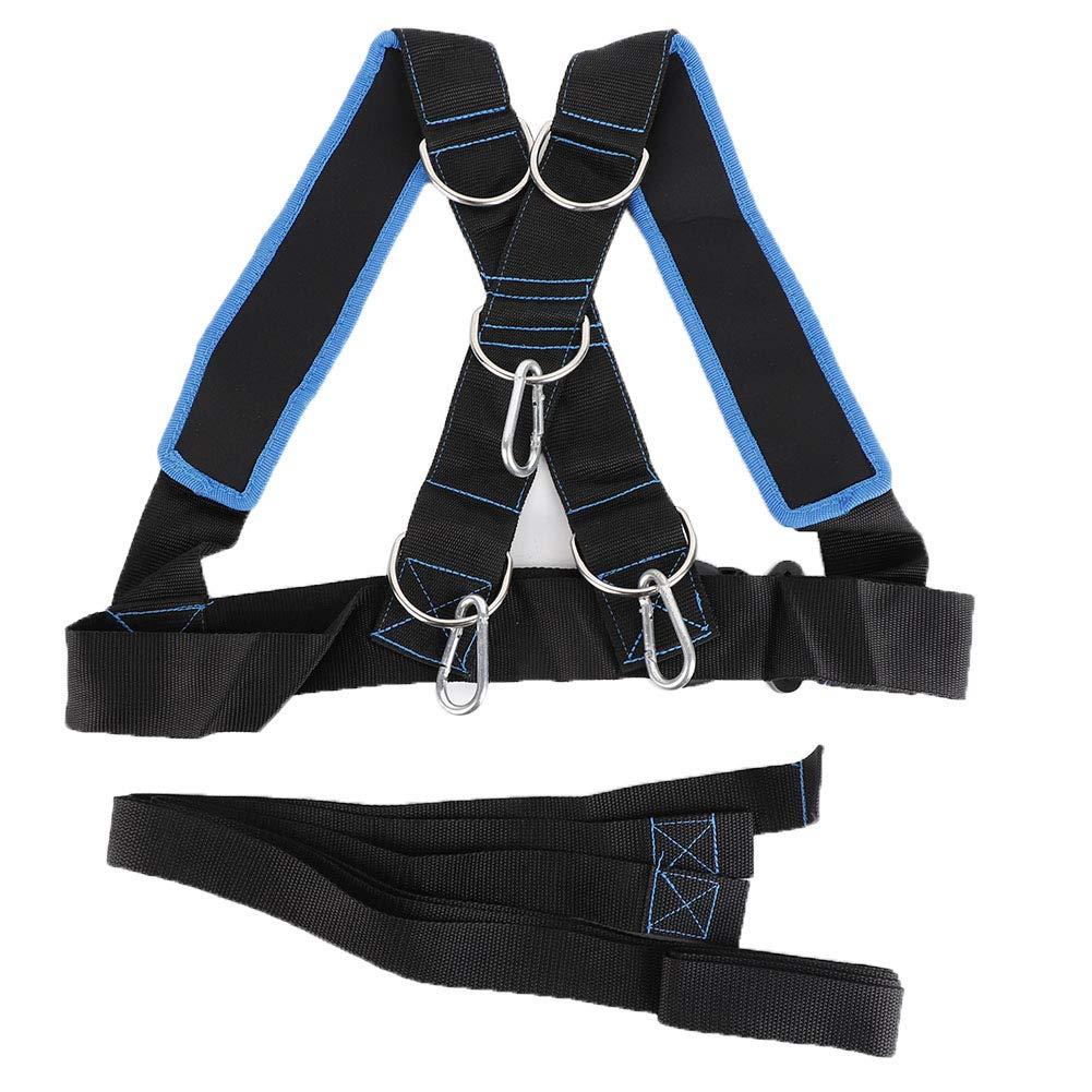 Strength Training Straps  Adustable Sled Harness Pull Belt Power Speed Trainer