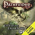 City of the Fallen Sky Audiobook by Tim Pratt Narrated by Victor Bevine