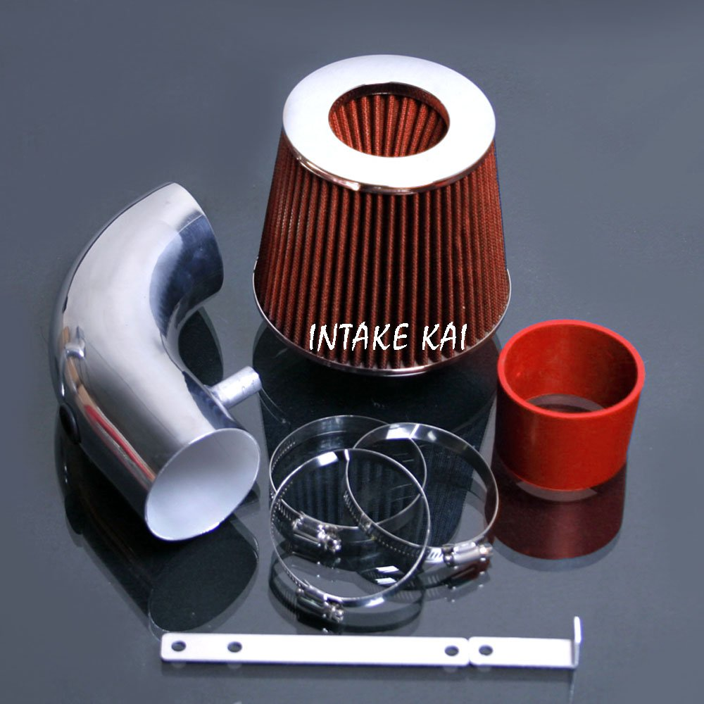 Red 2001-2007 CHRYSLER VOYAGER / DODGE CARAVAN 3.3 3.3L Air Intake Kit Systems