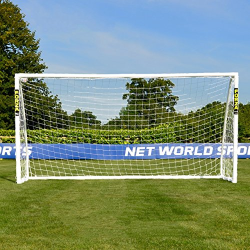 Net World Sports Forza Soccer Goal - The Ultimate Home Soccer Goal! Leave These Soccer Goals Up in All Weather Conditions. Forza Soccer Goals Can Take 1000s of Shots! ()