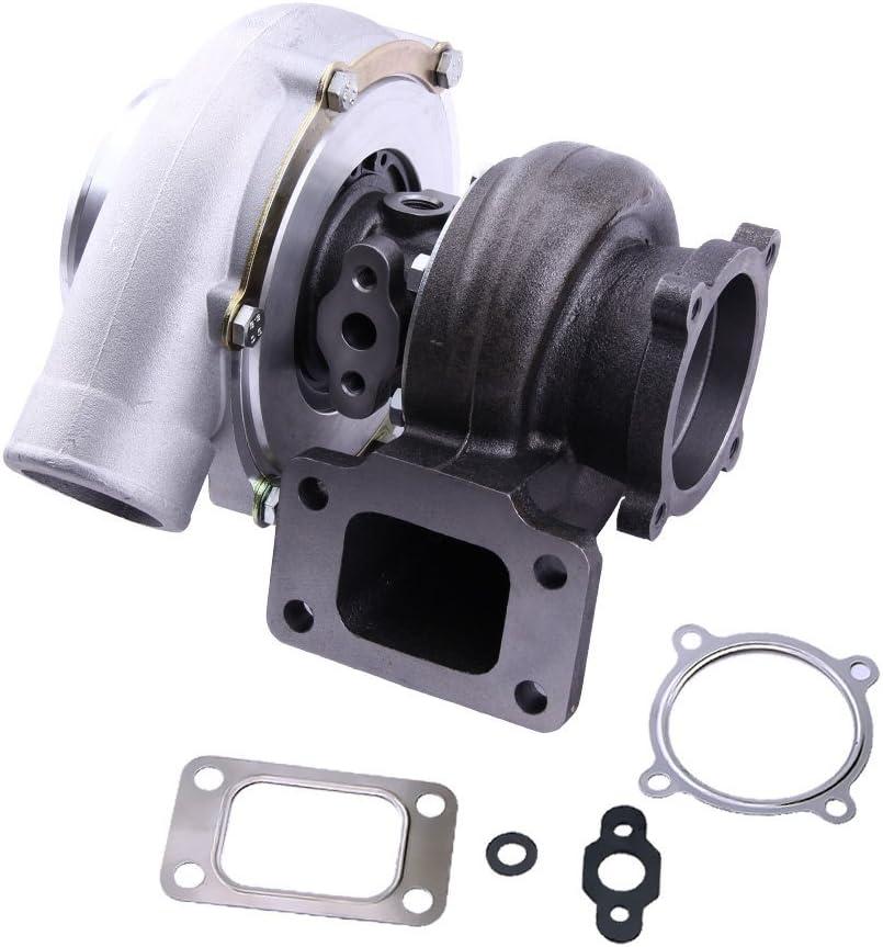 maXpeedingrods Turbo Turbocompresor de Motor Coche GT3582 GT35 GT3582R T3 Brida 0.63 A/R 600HP Agua-Aceite Turbo: Amazon.es: Coche y moto