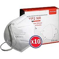 CRAZYCHIC - Mascarilla FFP2 Certificada CE EN149 - Mascarilla de Protección Respiratoria - Protectora Respirador…