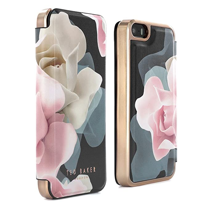 60e91790b Amazon.com  Ted Baker AW16 iPhone SE   5S Case - Luxury Folio Case ...