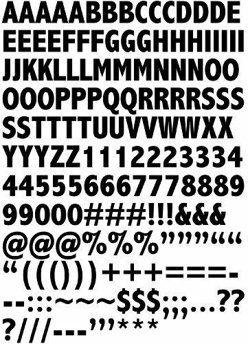 window letter decals - 4