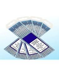 "10 pcs of 1/8"" 7""(3.2175mm) WL20 Blue 2% Lanthanated Tungsten TIG Electrode"