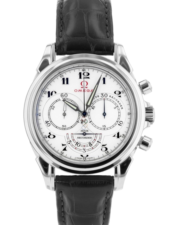 [オメガ] 腕時計 OMEGA 422.13.41.50.04.001 スペシャリティーズ オリンピックコレクション SS/レザー [中古品] [並行輸入品] B07DN7V7XS
