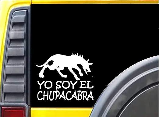 CHUPACABRA Decal STICKER High Quality Vinyl  BUY 2 GET 1 FREE AUTOMATICALLY