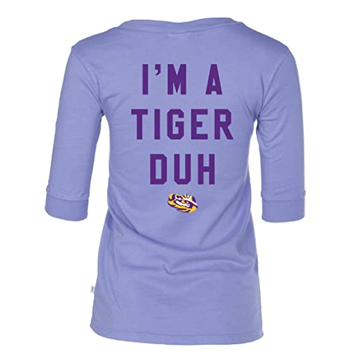 Amazon.com  Official NCAA LSU Tigers - Halloween Shirt - Women s 3 4  Football V-Neck Tee  Clothing 175eed331