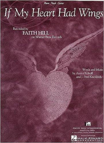 FAITH HILL - If My Heart Had Wings Piano-Vocal Lyrics-Guitar Chords ...