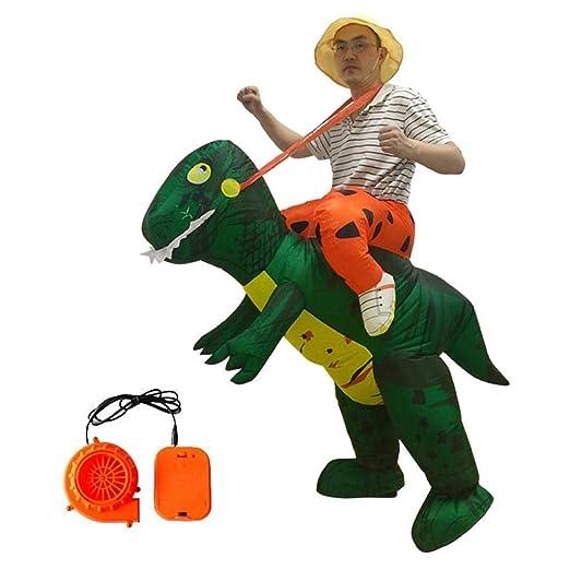 LEZDPP Inflables Dinosaurios Disfraces de Halloween Traje ...