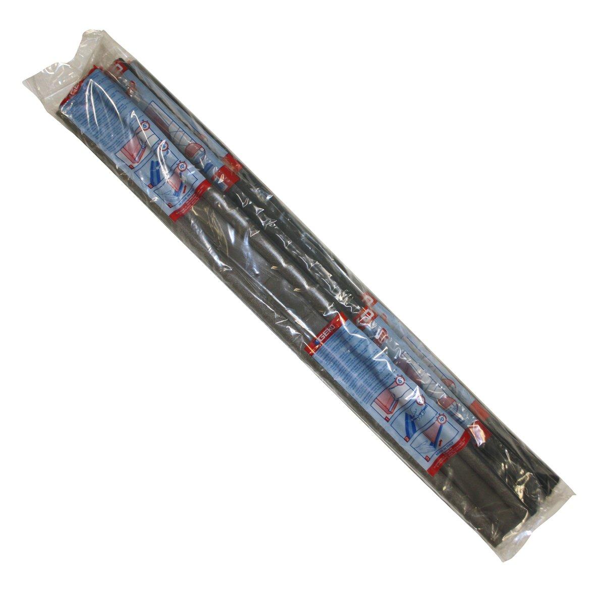 Paraspifferi universale protezione porta da entrambi i lati, ritagliabile su misura Geko colore: Grigio