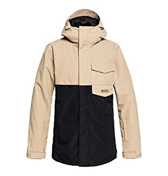DC Shoes Merchant Chaqueta, Hombre, Beige (Incense), S