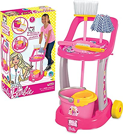 7bcfc068cd1e70 Buy Barbie Cleaning Trolley Online at Low Prices in India - Amazon.in