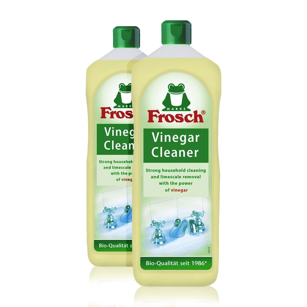 Frosch Natural Vinegar Universal All Purpose Cleaner, 1000 ml (Pack of 2)