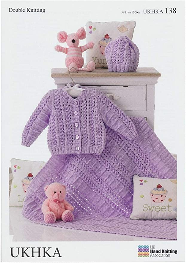 Baby Knitting Pattern DK UKHKA 91