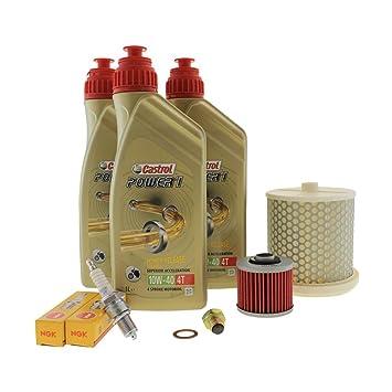 Kit de mantenimiento para el aceite del motor. 10 W-40 ...