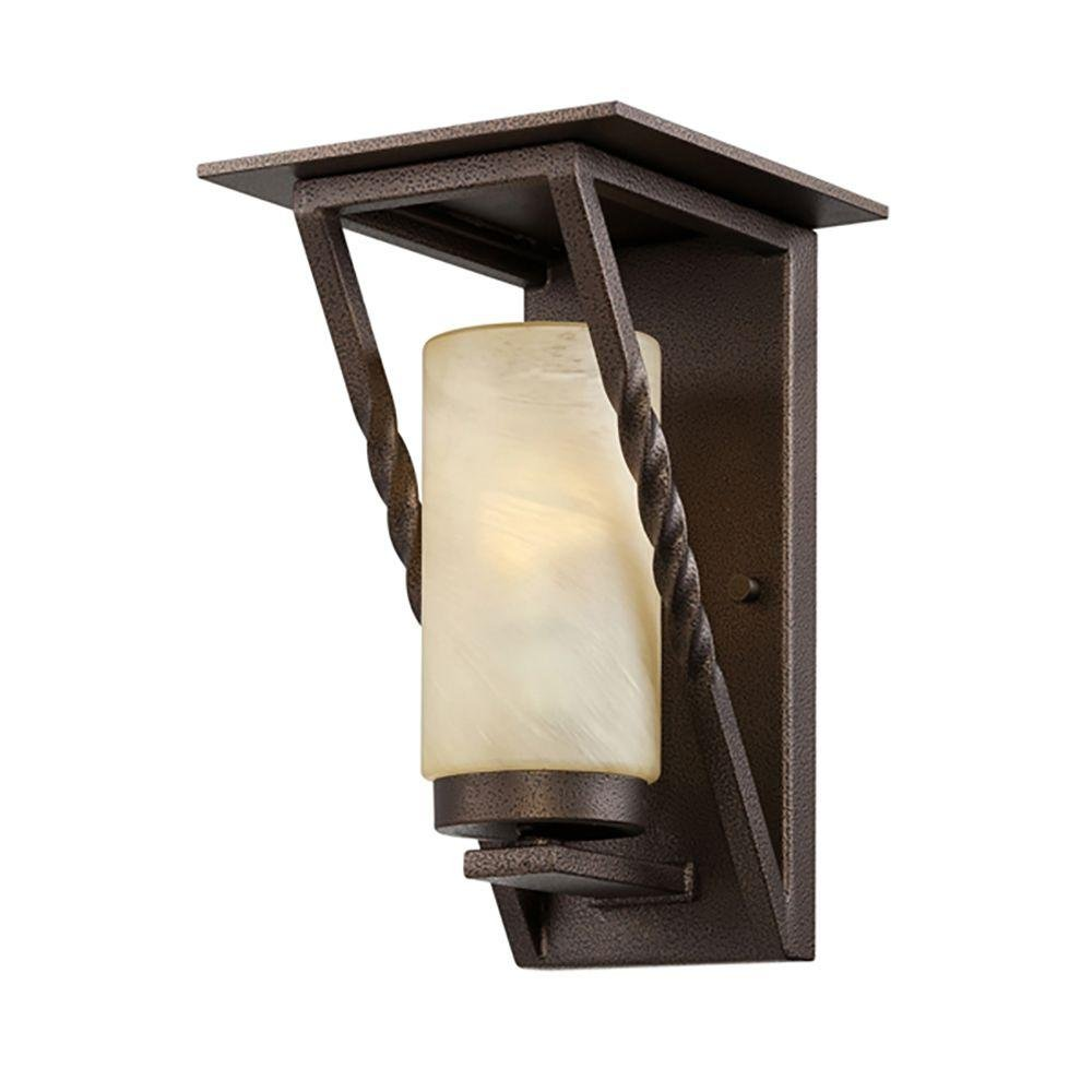 Designers Fountain ES31921-FBZ Parkview Wall Lanterns, Flemish Bronze