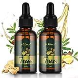 Hair Growth Serum, 30ml Ginger Germinal Essential Oil, Hair Growth Oil Dense Thicken Hair Scalp Treatment, Hair Loss…
