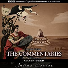 The Commentaries Audiobook by Julius Caesar Narrated by David McCallion