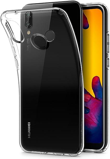 Spigen [Liquid Crystal Funda Huawei P20 Lite con Protección TPU ...