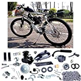 YaeCCC 80cc 2-Stroke Upgraded Motor Engine Kit Gas for Motorized Bicycle Bike Black