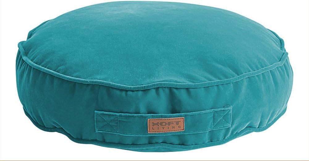 Aufwendiges Kinder-Sitzkissen Minymo als kleiner Sitzsack Xoft Living Blau