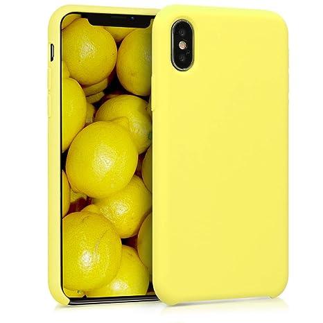 coque integrale iphone x jaune