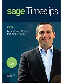 Sage Timeslips 2019, Time Tracking and Billing Software, Easy Data Entry, Over 100 Predefined Reports, Track Billable...
