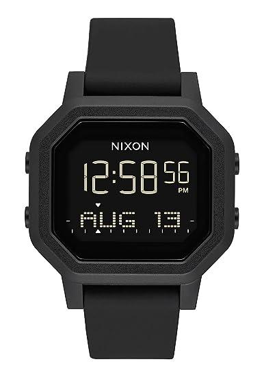 Nixon Reloj Mujer de Digital con Correa en Silicona A1210-001-00: Amazon.es: Relojes