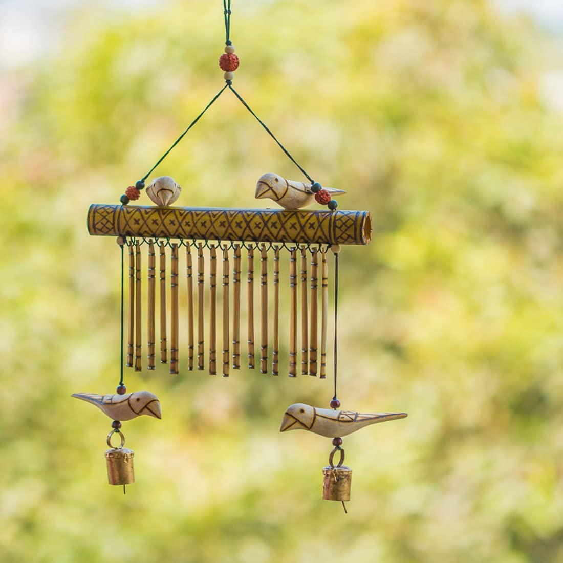 ExclusiveLane 67% OFF of fixed price Bird Collection Wooden Handmade New product Hanging Decorative