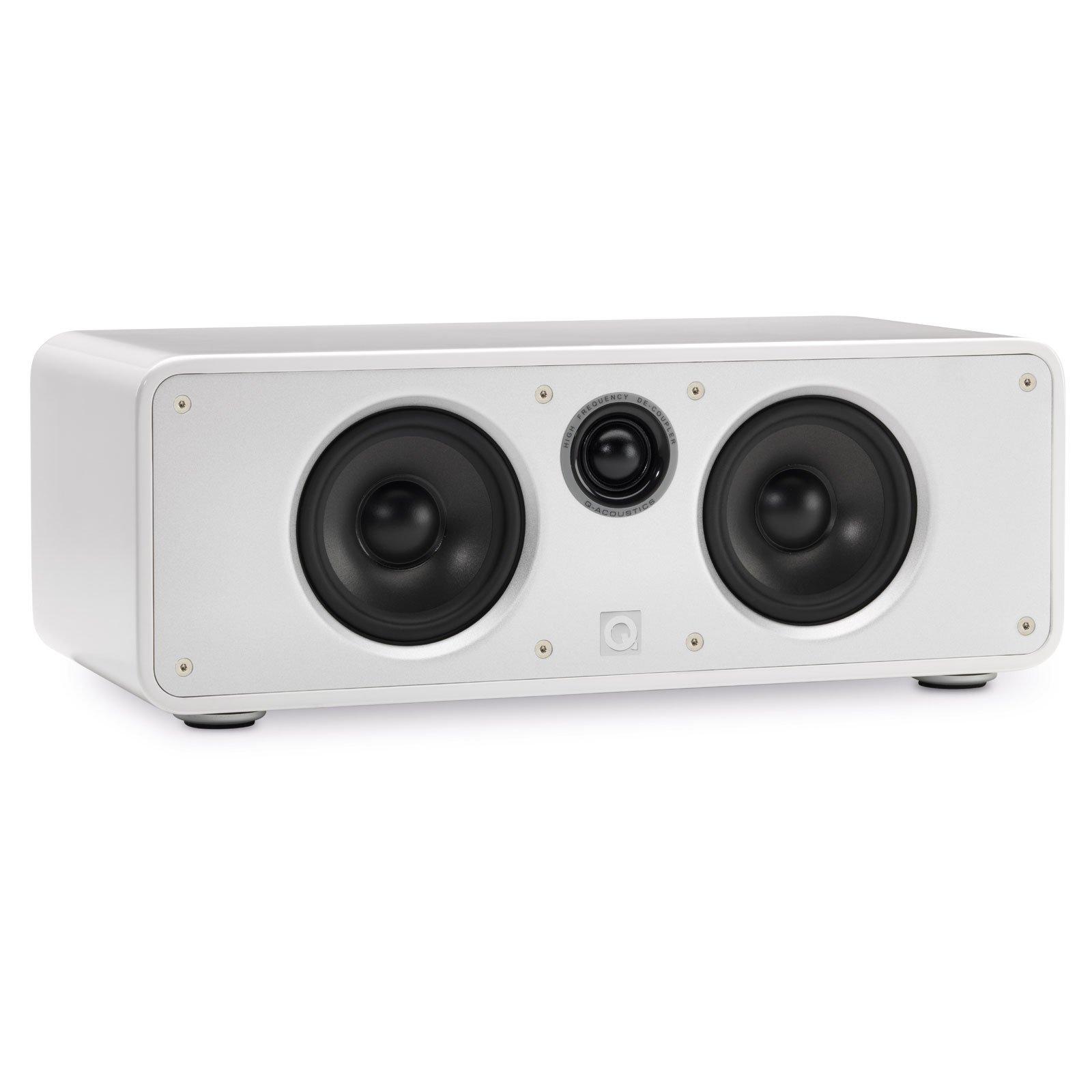Q Acoustics Concept Center Channel Speaker (Gloss White)
