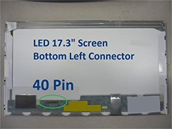 Amazon Com 17 3 Wxga Glossy Laptop Led Screen For Hp Pavilion G7 1150us Computers Accessories