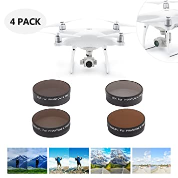 Pstars Filters Lens UV CPL ND4 ND8 ND16 ND32 ND64 Star Filter for DJI Mavic 2 PRO Drone Filter Accessories