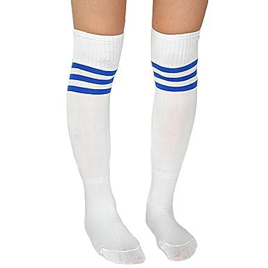 Pour Genou Sport Football Sur Femme Basketball Baseball Chaussettes WCQrBeodx