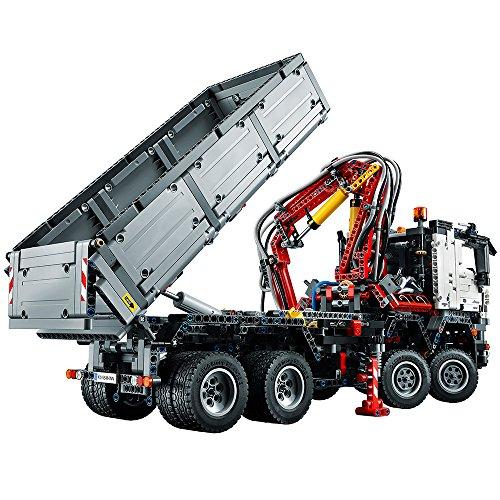 lego technic mercedes benz arocs 3245 42043 building kit import it all. Black Bedroom Furniture Sets. Home Design Ideas